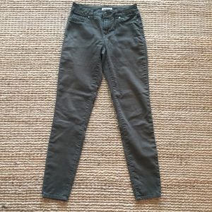 Blue Spice Olive Green Mid Rise Skinny Jeans